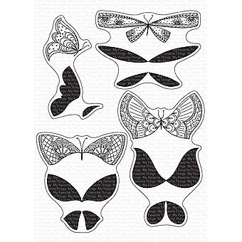 My Favorite Things More Brilliant Butterflies Clear Stamps
