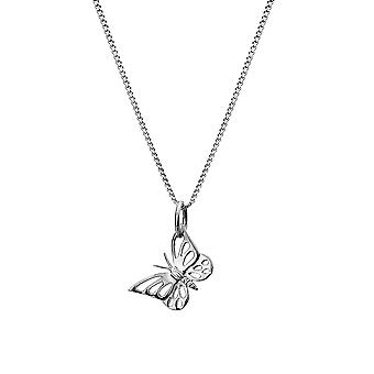 Sterling Silver Pendant Necklace - Origins Butterfly