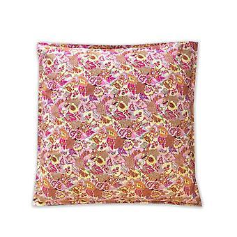 Pink Paisley Giant Cushion Bean Bag