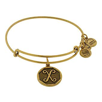 Alex and Ani Initial X Charm Bangle Bracelet - A13EB14XG