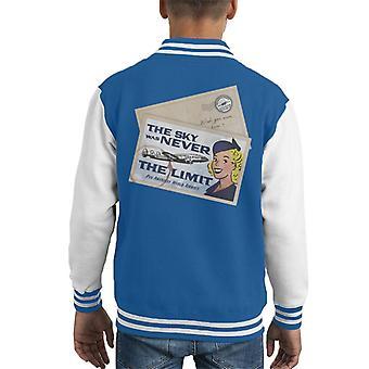 Pan Am The Sky nunca fue la chaqueta varsity de Limit Kid's