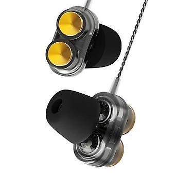 QKZ KD7 3,5 mm kablet øretelefon