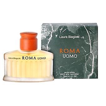 Roma Uomo-tekijä Laura Biagiotti -Eau de Toilette Spray 75 ml