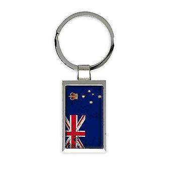 Geschenk Schlüsselanhänger: Australien Flagge