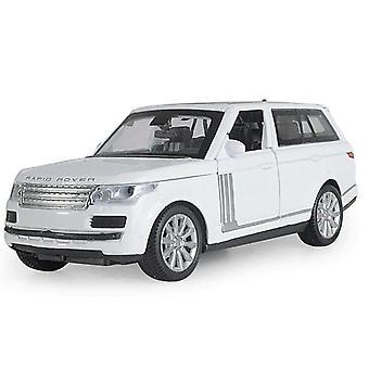 1:32 Speelgoed auto Range Rover SUV metalen speelgoed auto (wit)