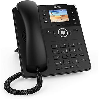 Wokex D735 IP Telefon, SIP Tischtelefon (hochauflösendes grafisches 2,7-Zoll-TFT-Display, 32