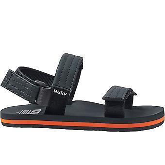 Reef Kids Little AHI Convertible Summer Holiday Sandals Flip Flops - Black