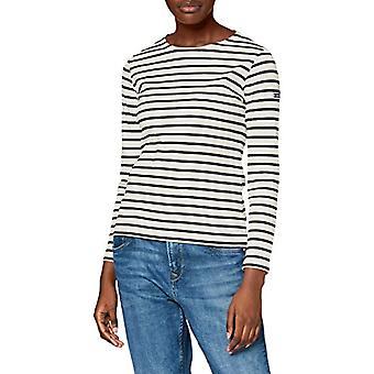 Armor Lux 4277 Camiseta, Multicolor (Naturaleza /Rich Navy Bi7), Pequeño (Tamaño Fabricante: 1) Mujer