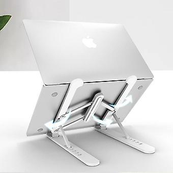 قابل للتعديل قابلة للطي كمبيوتر محمول حامل كمبيوتر محمول غير زلة وحقيبة التخزين