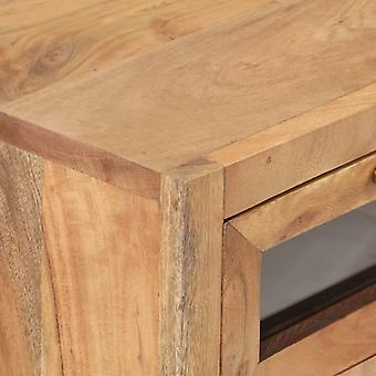 vidaXL Dressoir 60x35x70 cm Acacia massief hout