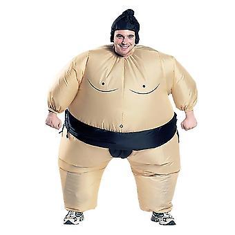 Inflatable Sumo Costume Suits, Wrestler Halloween For Adult/children, Fat Man,