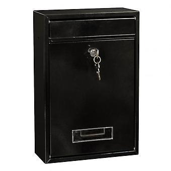 Ulkona lukittava seinä asennettu roikkuva rauta postilaatikko avaimella