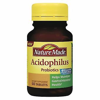 Nature Made Acidophilus Probiotics, 60 Tabs