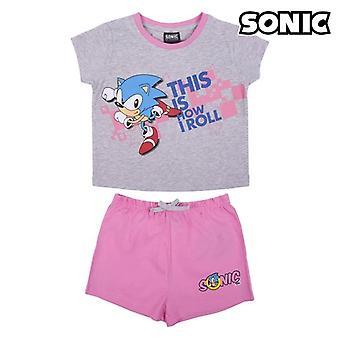 Детская пижама Sonic Grey