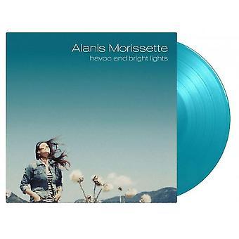 Alanis Morissette - Ravage en felle lichten turquoise vinyl