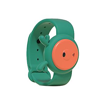 Children's Ultrasonic Mosquito Repellent Bracelet, for Indoors and Outdoors Green fawn