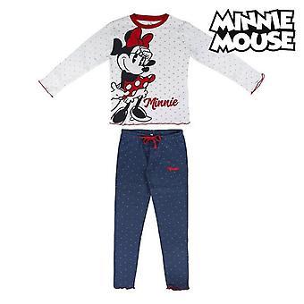 Детская пижама Minnie Mouse 74810 Белый синий (2 шт)