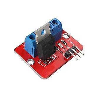 0-24V horné mosfet tlačidlo irf520 mos ovládač modul pre arduino mcu arm raspberry pi pwm modul výstup
