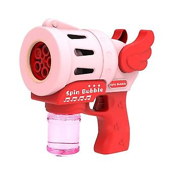 Summer Electric Automatic Soap Cute Bubble Machine Bubble Blower For Children Outdoor