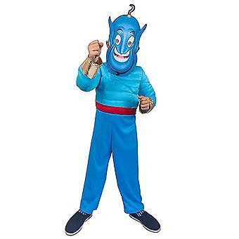 Χαριτωμένο μαγικό κοστούμι απόδοσης παιδιών λαμπτήρων Aladdin μαγικό cosplay λαμπτήρων (μεγάλο)
