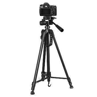 WT3520 Aluminum Alloy Foldable Protable Photography Tripod for Camera DV Camcorder