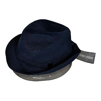 Stacy Adams Women's Hat Reg 100% Polyester Fedora Blue