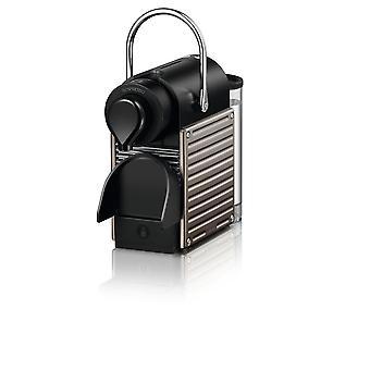 Nespresso C61 Pixie Titan Coffee Machine ,  Nespresso Coffee Machine , Stainless Steel , Black , Coffee Maker