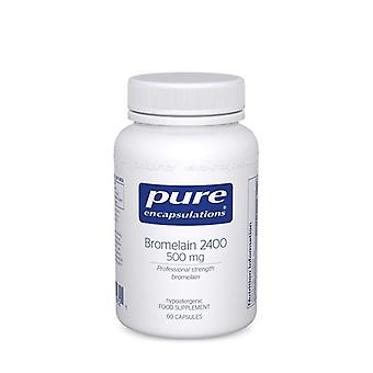 Pure Encapsulations Bromelain 2400 500mg Capsules 60 (BR56UK)