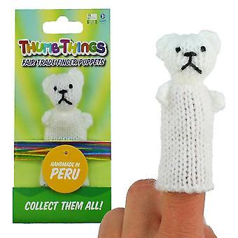 Marionnettes marionnettes ours en peluche doigt marionnette sm158701
