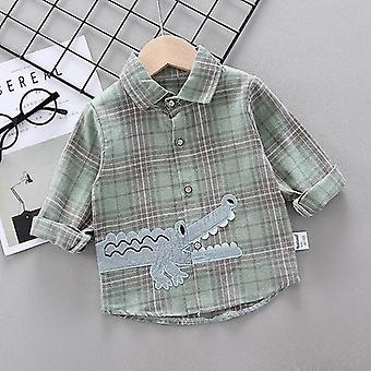 Stripe Shirt Clothes Baby Spring Thin Infant Long Sleeve Tees Tops Cotton