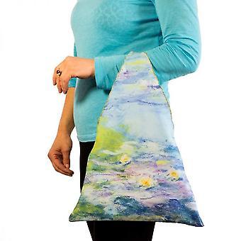 Tygkasse motiv konst näckrosor Claude Monet