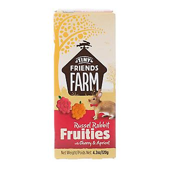 Tiny Friends Farm Russel Rabbit Fruities with Cherry & Apricot - 4.2 oz