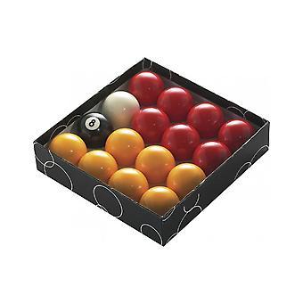 PowerGlide Classic Standard punainen ja keltainen allas pallot 47,5 mm-boxed