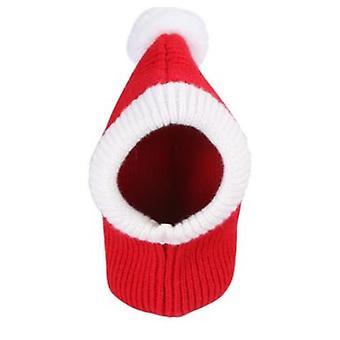 סתיו חורף חיית מחמד קוספליי DIY כובע חג המולד חם חתול קטן כובעים כלב פאג אביזרים