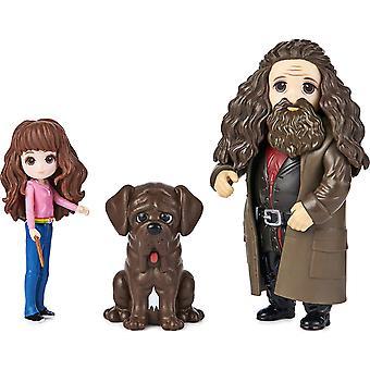 Wizarding World Magical Minis Hermione et Rubeus Hagrid
