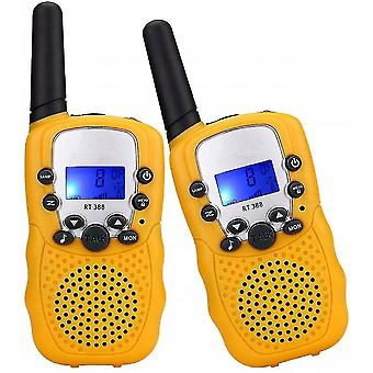 Intercoms walkie talkies toys for 3-12 year old  22 channels 2 way radio 3 miles range christmas gifts for 4-14 year old