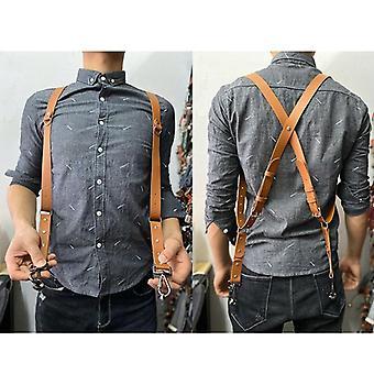 Travel Camera Strap Photographer Women Leather Suspender