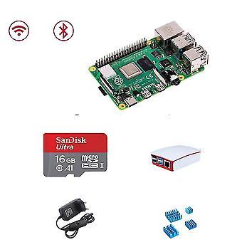 Raspberry Pi 4 4gb Basic Kit mit weißem Gehäuse