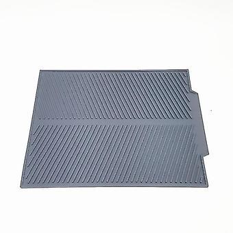 Hitzebeständige Silikon-Trocknungsmatte im skandinavischen Stil (Groß) (Grau)