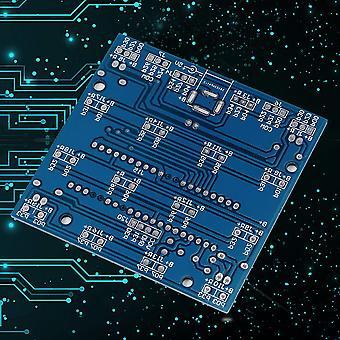 עמיד 4 * 4 * 4 3d Led אור בריבוע כחול ריי הוביל קוביה Diy Pcb לוח ערכת ערכת