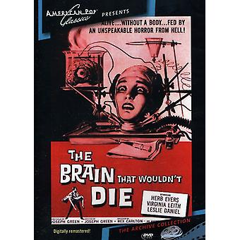 Brain That Wouldn't Die (1962) [DVD] USA import