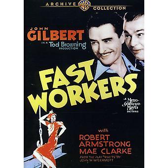 Importación de trabajadores rápidos (1933) [DVD] los E.e.u.u.