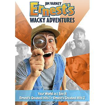 Ernest galna äventyr [DVD] USA import