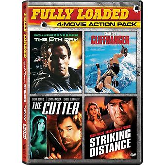 6 ° giorno / Cutter / Cliffhanger / import USA colpisce distanza [DVD]