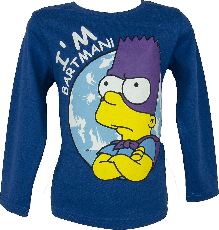 Bart Simpson Long Sleeve Top