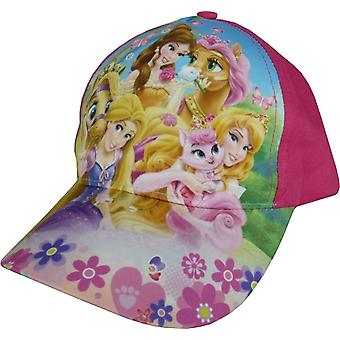 Girls Disney Princess Baseball Cap / Hat with Adjustable Back