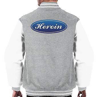 Trainspotting T2 Eroin Ford Logo Men's Varsity Ceket