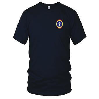 US Navy USS Holland AS-32 Polaris Pro tempo broderet Patch - Herre T-shirt