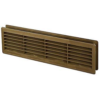 120x440mm interne Tür Kunststoff Gitter Ventilationsluft Vent verschiedene kreieren