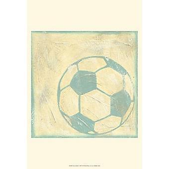 Soccer Rules Poster Print by Chariklia Zarris (13 x 19)